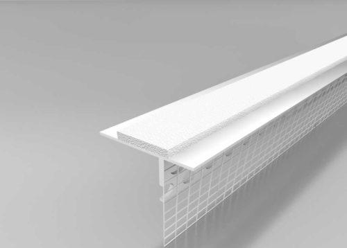 Beyem Perfil de alféizar PVC con malla