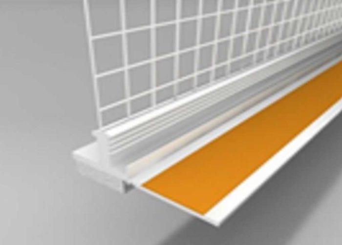 Beyem Perfil marco ventana PVC 6 mm con malla