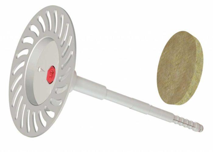 Beyem Taco atornillado de acero MW para fijación mecánica