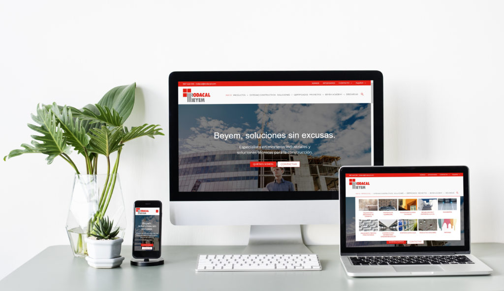 Rodacal Beyem estrena nueva web