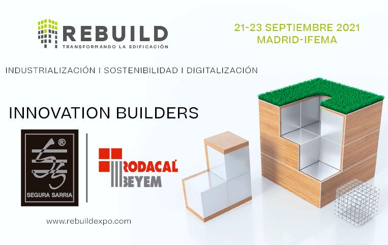 Rodacal Beyem y Segura Sarria en Rebuild 2021